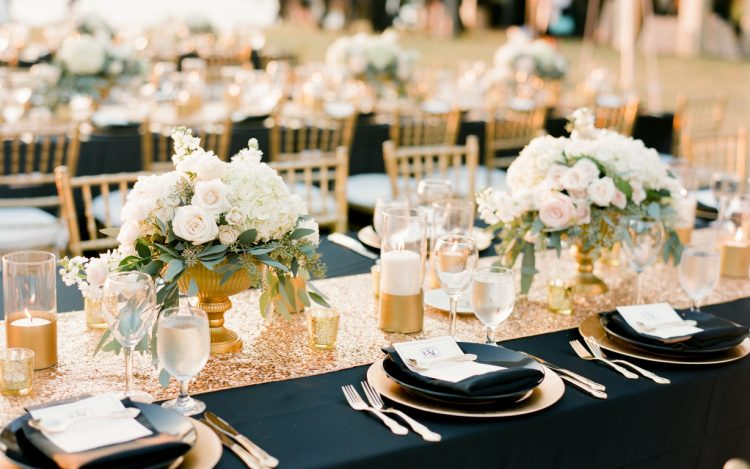meja wedding party