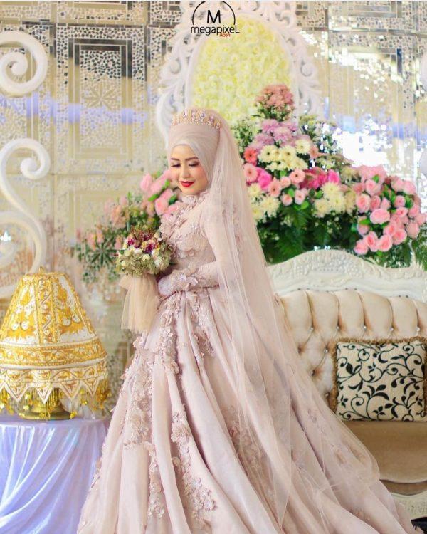 Gaun Pengantin Muslim Undangan Magelang
