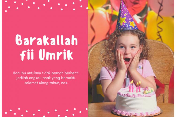 13 Inspirasi Ucapan Ulang Tahun Islami Terbaik Dan Menyentuh Hati